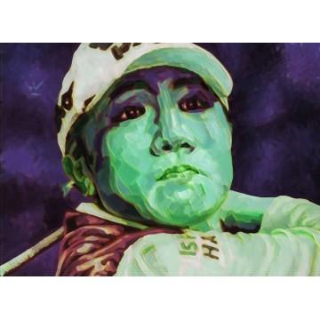 FIGURES TRAGIQUES - La joueuse de golf - variation 02